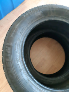 2 Michelin Winter Tires 225/55/R16