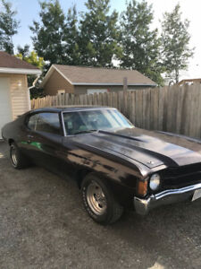 1971 HEAVY CHEVY CHEVELLE (TRADE FOR CHARGER)