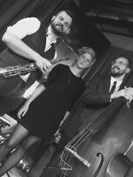 Jazz Trio for Hiring! Perfect for Holiday Events/Parties!