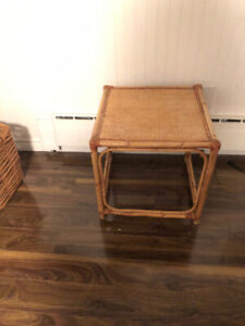 Wicker coffee table or side table