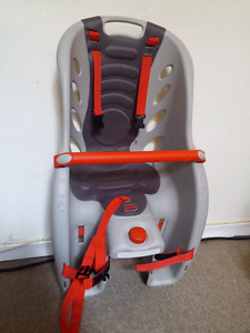 Baby bike seat attachment