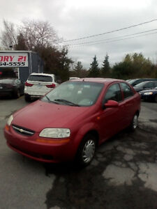 2004 CHEV. AVEO AUTOMATIC LOADED FUEL FANTASTIC $1950.