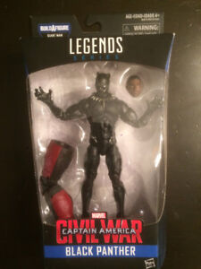 Figurine Marvel Legends Captain America Civil War Black Panther