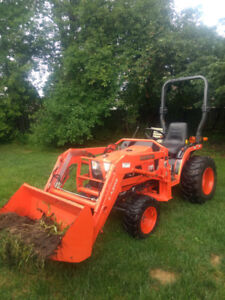 Kubota Tractor with loader