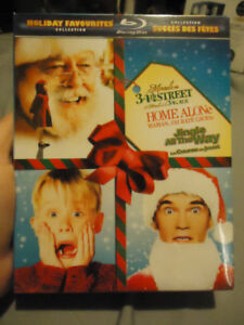 CHRISTMAS HOLIDAY FAVOURITES BLURAY COLLECTION BNIB