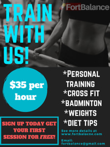 Personal Training Sessions (Home/Gym)
