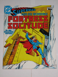 DC Comics Superman Fortress of Solitude (1981) comic book