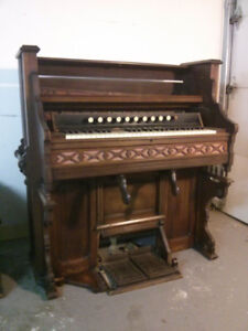 Antique Pump Organ $160 OR BEST OFFER