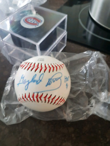 Padres g.perry autographes