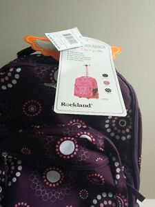 Brand new Backpack with wheels