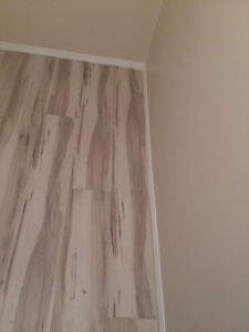 BEST Water proof Vinyl Laminate, Planks  installation services