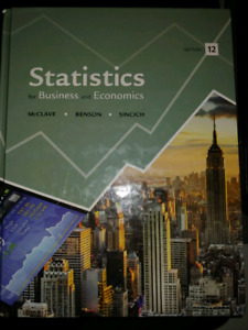 Statistics for Business or Economics 12th ed