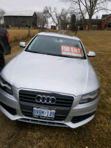 2012 Audi A4, mint condition, low mileage!