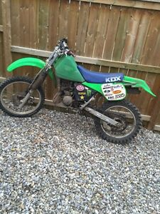 Kawasaki Kdxparts