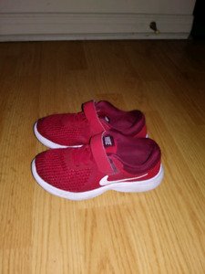 Boy's Red Nike Running Shoes