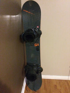 Quiksilver snowboard, Morrow bindings, Lamar boots and extras!