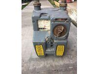 Vintage pre pay gas meter