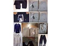Ralph Lauren men's polo full tracksuits set hoodies & joggers £35 set 2x colours cotton