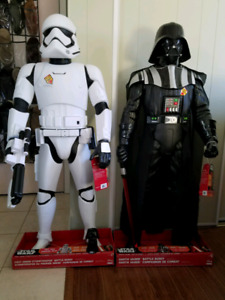 Massive darth vader or stormtrooper, 4ft tall, motion activated!