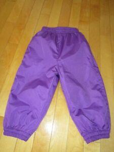 Pantalon imperméable doublé 18 mois