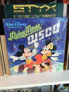 Mickey Mouse Disco Vinyl