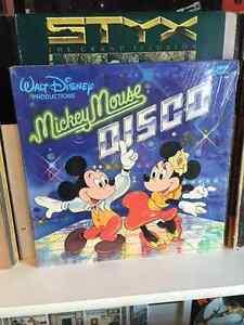 Mickey Mouse Disco Vinyl