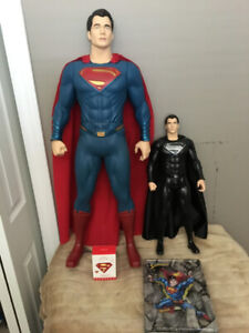 SUPERMAN COLLECTION FIGURES,ORNAMENT,COLLECTOR TIN$60.00