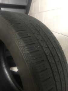 4 235/55/r19     A/S Continental cross contact tires