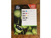 HP Photosmart 364 pack of 4 cartridges (CMYK)