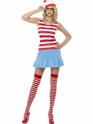Wo Ist Wenda? Cutie Kostüm, wo Ist Wally Lizenziert Kostüm, UK Größe - Wenda Wo Ist Wally Kostüm