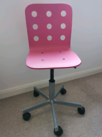Ikea pink chair