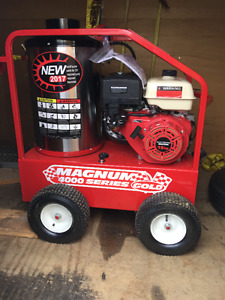 Easy Clean, 4000PSI pressure washer, hot water up to 190 degrees