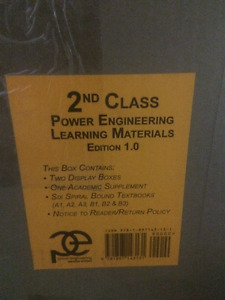2nd Class Power engineering books