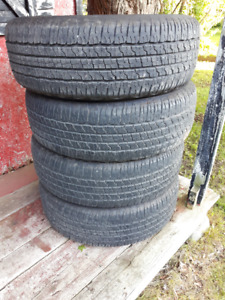 Ford 150 OEM tires  275/60R18 116T