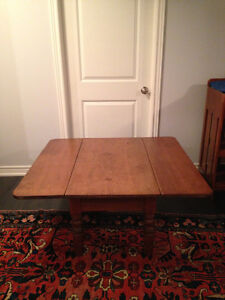 Antique Solid Pine Coffee Table