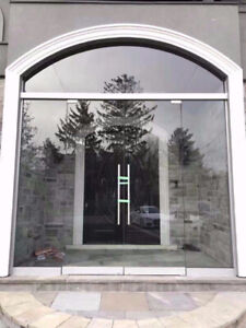 10mm Tempered Glass Entrance Door / Mirror / Stair