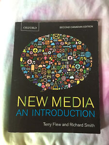 *TEXTBOOK* New Media: An Introduction 2nd edition. Windsor Region Ontario image 1