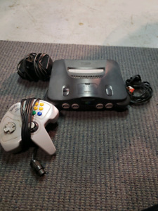 Nintendo 64 with all cords & superpad controller