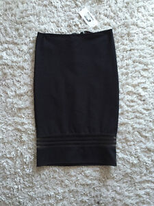 NEW black fitted pencil skirt Small $10 and more!