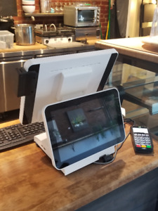 Brand new top of the line POS system with customer screen/ MEV