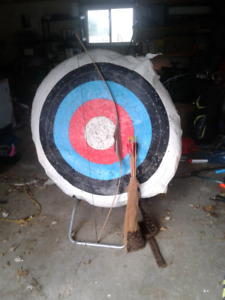 Target bow and arrow