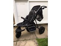 Hauck Freerider Tandem (double) Buggy