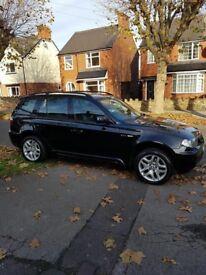 BMW X3 MSport 2.0 litre diesel
