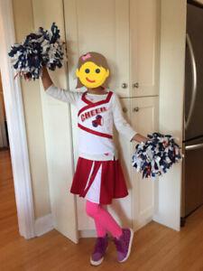 High School Cheerleader Costume - Size Small Girls