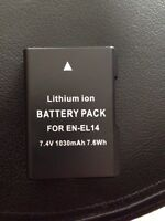 Lithium ion battery for SLR camera
