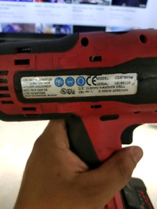Snap-on hammer drill