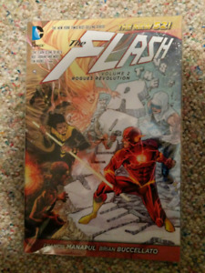 DC Comics The Flash Vol 2 Rogues Revolution, the new 52