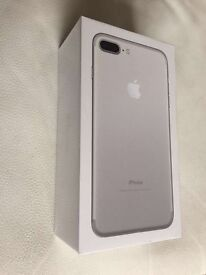 Iphone 7 plus silver 32gb sealed vodafone network