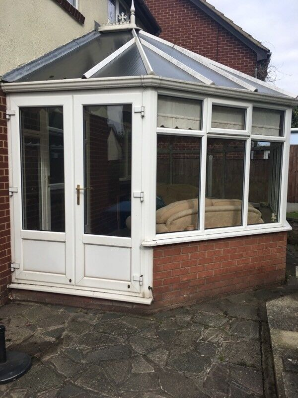 Conservatory White UPVC (used)