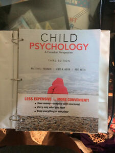 Child Psychology a Canadian Perspective